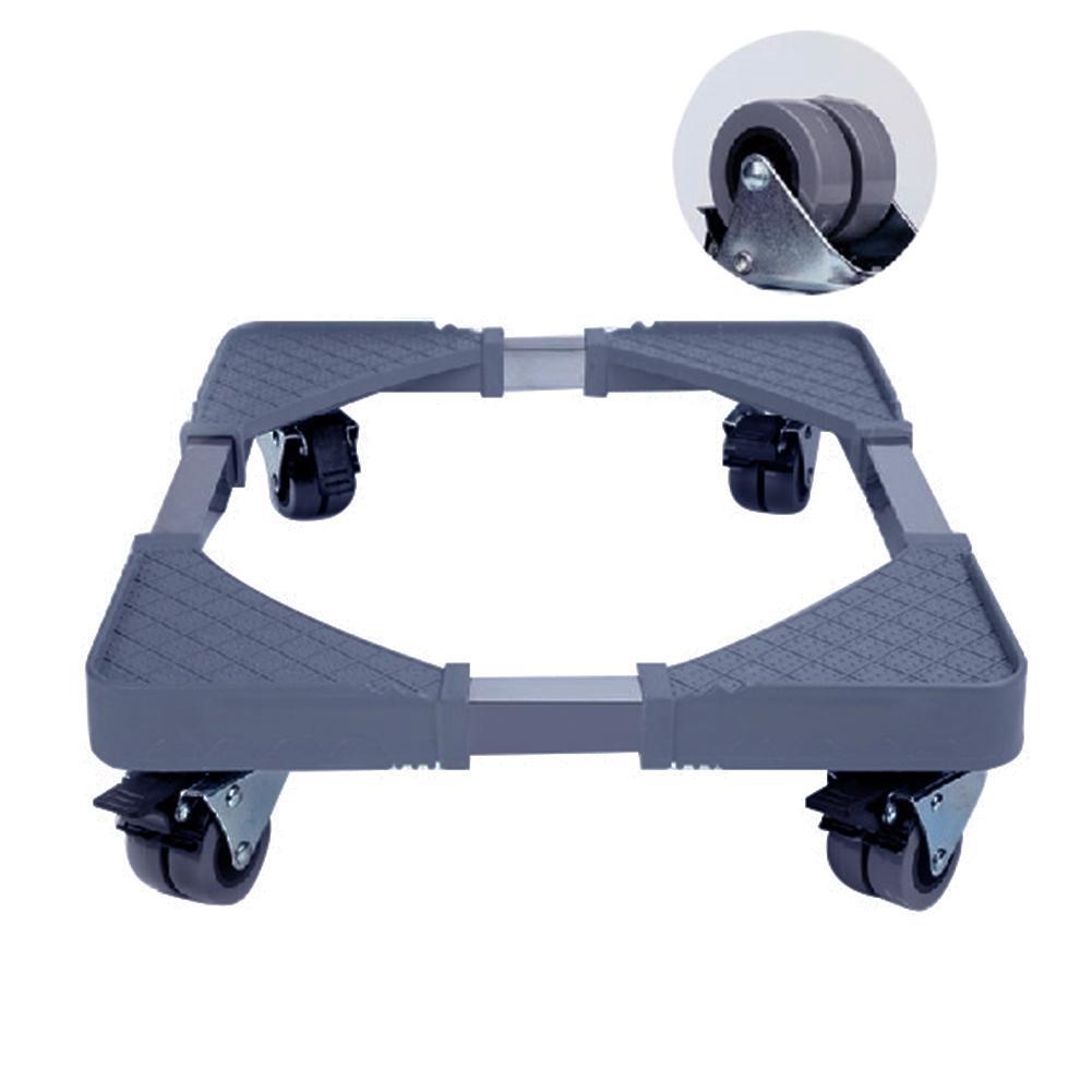 New Adjustable Furniture Casters With Wheels Removable Refrigerator Air Conditioner Bracket Holder Furniture Hardware