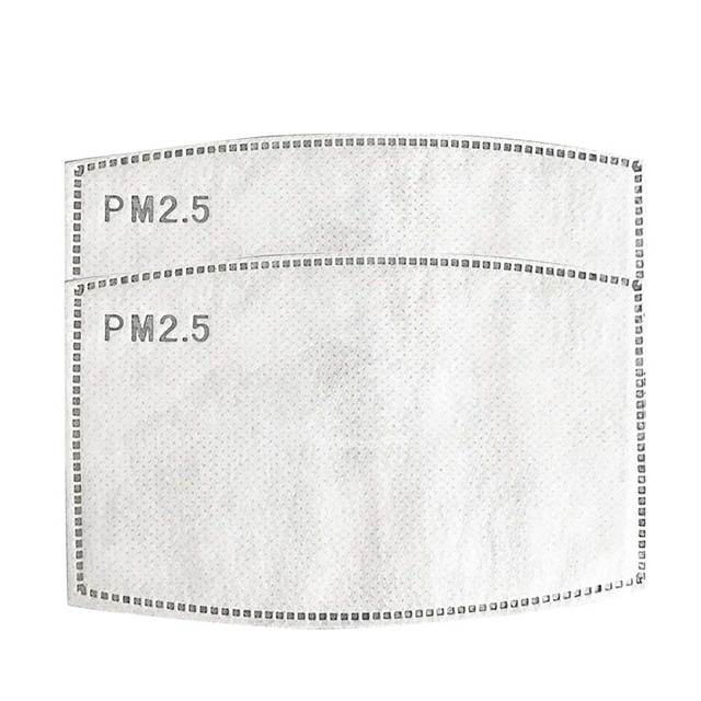 #H30 2/4/6/8/12 pcs/packs 5 Layers Filter Face Mask PM2.5 Face Mask Filter Activated Carbon Breathing Filters Adult 3