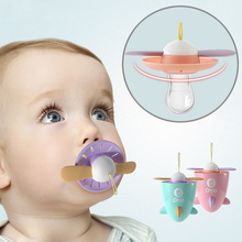 Food Grade Silicone novel cute Baby Pacifiers Nipple Teethers Toddler Pacifier Orthodontic Soothers Teat ( Flying dream )