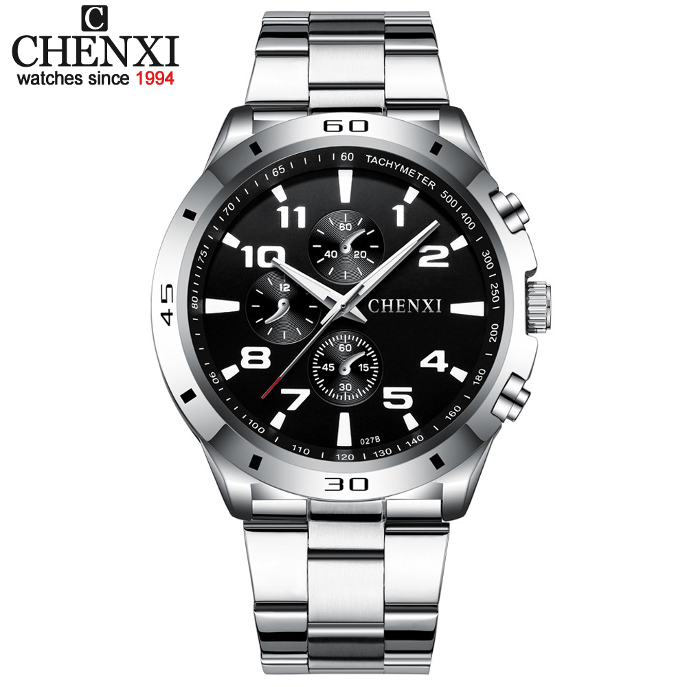 New CHENXI Men Quartz Watches Man Top Brand Luxury Military Waterproof Watch Male Clock Gift Wrist Watch Men's Relogio Masculino