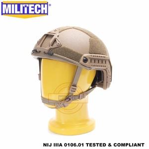 Image 2 - MILITECH Casco balístico FAST CB Deluxe, NIJ level IIIA 3A, de corte alto, certificado ISO, Twaron, a prueba de balas, DEVGRU