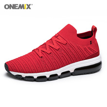 ONEMIX Men Running Shoes Knit Mesh Sneakers outdoor jogging shoes for Breathable Fitness Sports Shoes Men  Walking Tennis shoes onemix 2018 men running shoes for women mesh knit trainers designer trends tennis sports outdoor travel trail walking sneakers