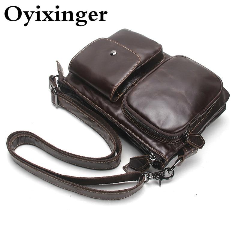 Soft Men's Genuine Leather Briefcase Messenger Bags Travel Men Bag Shoulder Bag Bolsa Masculina Bolso Bandolera Hombre Sac Homme