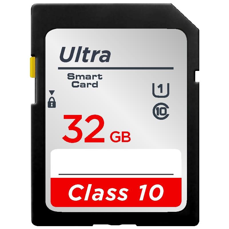 Original 16G 32GB U1 SDHC 64GB 128GB 256GB U3 SD Card SDXC Class10 V10 Memory Card For 1080p 3D 4K Video Camera