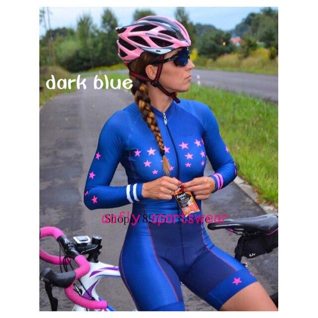 Laranja longo de mangas compridas camisa ciclismo skinsuit 2020 mulher ir pro mtb bicicleta roupas opa hombre macacão 9d gel almofada skinsuit 2