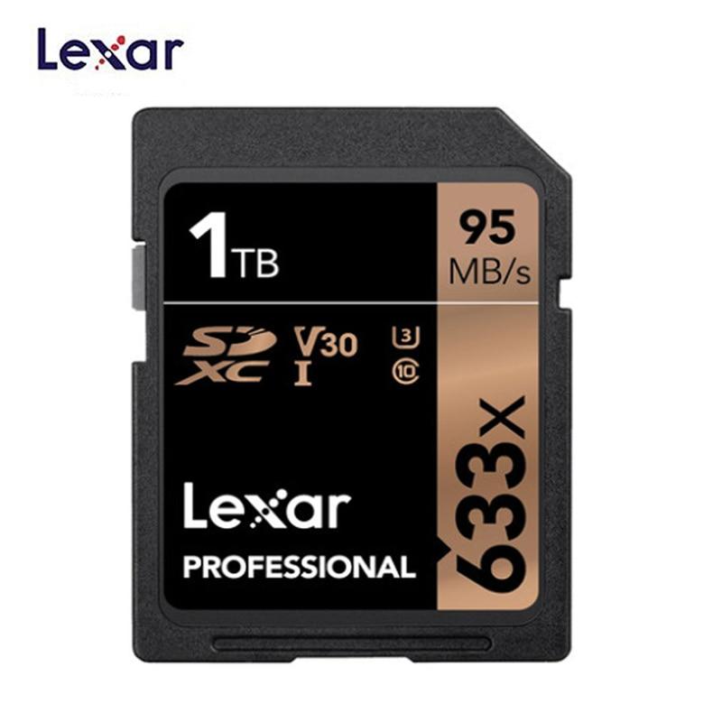 Computer & Office ... Internal Storage ... 32801544671 ... 5 ... Lexar SD Card 633x Original 95M/s 32GB U1 SDHC 64GB 128GB 256GB 512G U3  SDXC Class 10 Memory Card For 1080p 3D 4K video Camera ...