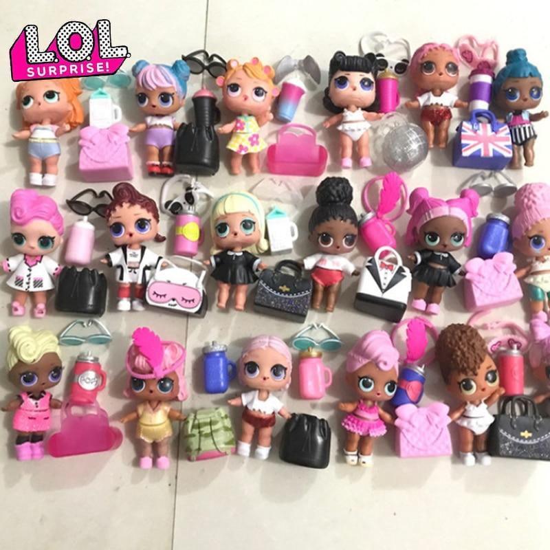 L.O.L.SURPRISE! Original Lol Dolls Toys Surpris Doll Generation DIY Manual Blind Box Fashion Model Doll Toy Gift 1pcs Radom Sent