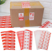 144pcs/lot Useful Fragile Warning Label Sticker 9x5cm Handle With Care Keep Shipping Express Label Packaging Mark Special Tag