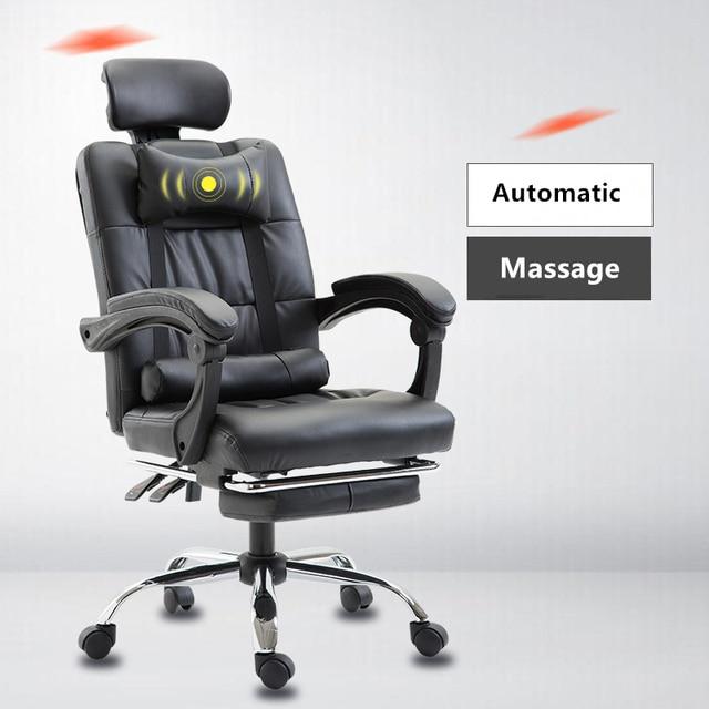 משרד בוס מנהלים כיסא ארגונומי מחשב משחקי כיסא קפה אינטרנט מושב מסתובב כיסאות ביתי שכיבה כורסא