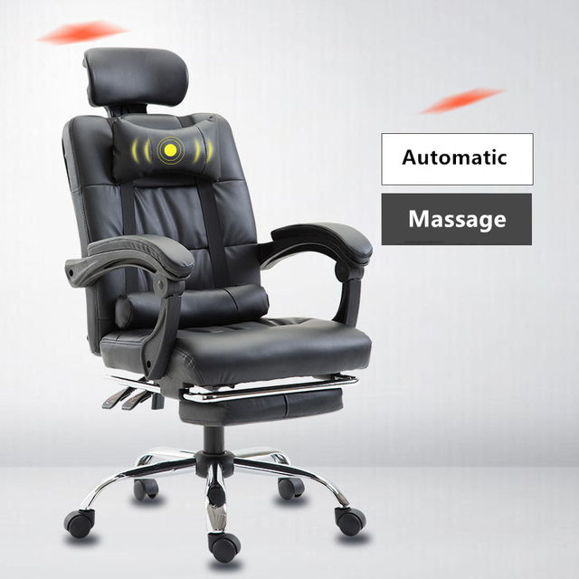 Office Boss Executive Chair Ergonomic Computer Gaming Chair Internet Cafe Seat Swivel Chairs Household Reclining Armchair