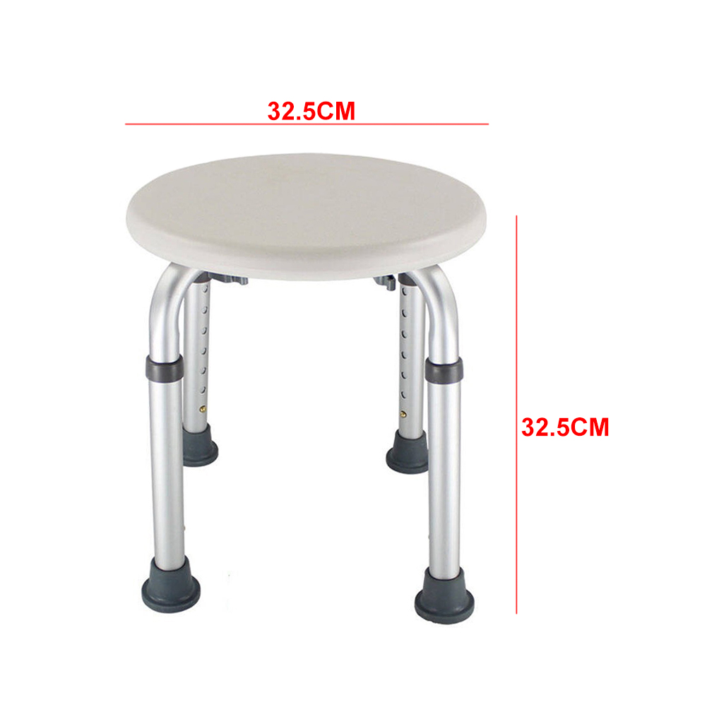 Image 3 - Bath Older Pregnancy Disabled Seat Non Slip Shower Stool Kids Toilet Chair Home Height Adjustable Furniture Easy Clean RoundBathroom Chairs & Stools   - AliExpress