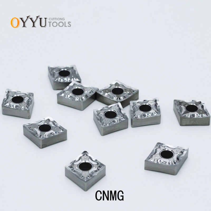 أويو CNMG CNMG120402 CNMG120404 CNMG120408 HA H01 كربيد إدراج مخرطة القاطع للألمنيوم والنحاس باستخدام الحاسب الآلي القاطع تحول أداة