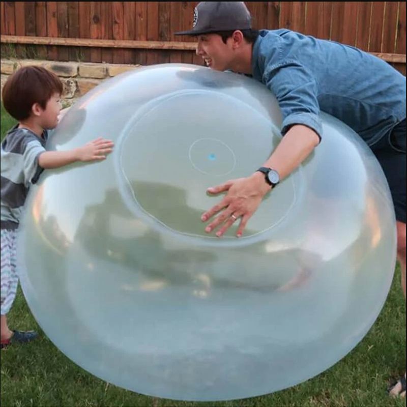 Magic Ball Bubble Giant Amazing Bubble Ball XL Blow Up Balloons Toy Fun Party Game
