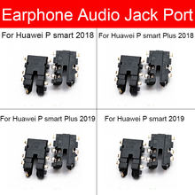 Jack Audio Flex Pita untuk Huawei P Smart Plus 2018 2019 Headphone Earphone Port Modul Flex Kabel Perbaikan Suku Cadang Pengganti(China)