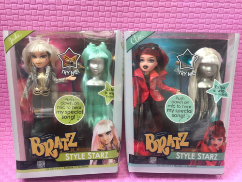 MGA BRATZ Baez Dolls, Wig Dolls, Singer Dolls, Girls Love To Bring Packaged Dolls, Birthday Gifts