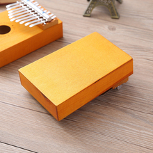 Children Composer Portable Sound Wooden Durable Thumb Piano 10 Keys Toy Gift Finger Board Instrument Musical Tone