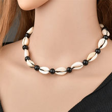 2019 Fashion Bohemian Style Shell Necklace Pendant Collar for Women Handmade Shell Conch Women Necklace Beach Jewelry Gift недорого