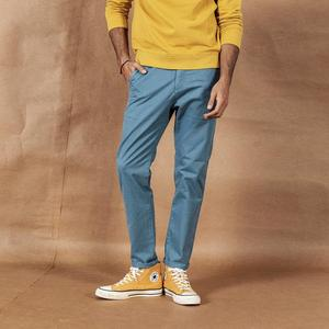 Image 2 - SIMWOOD 2020 spring New Solid Pants Men Classical basic trousers 100% cotton high quality male brand clothing 190435