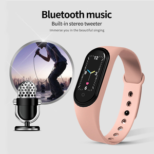 Image 2 - New M5 Smart Watch Men Women Bluetooth Watch Fitness Sport Tracker Call Smartwatch Play Music Bracelet For iPhone Android