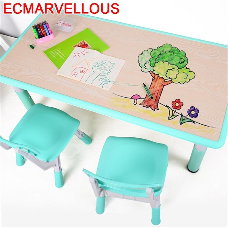 Play And Chair Baby Kindertisch Tavolino Bambini Mesa De Estudio Desk Kindergarten Study For Kids Bureau Enfant Children Table