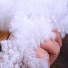 500g High Quality Pearl Cotton fiber fill elastic Environmental cotton Filler Stuffing Toys pillows Filling Material fiberfill
