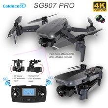 Zangão gps sg907pro com 5g wifi 4k hd câmera dupla profissional fotografia aérea 2-axis cardan rc dobrável quadcopter brinquedo presente