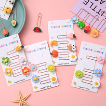 Bookmark Paper-Clip Note Clip-Decoration Office-Stationery Carrot-Paper Metal Small Mini