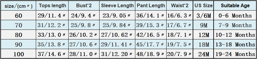 长袖套装标准