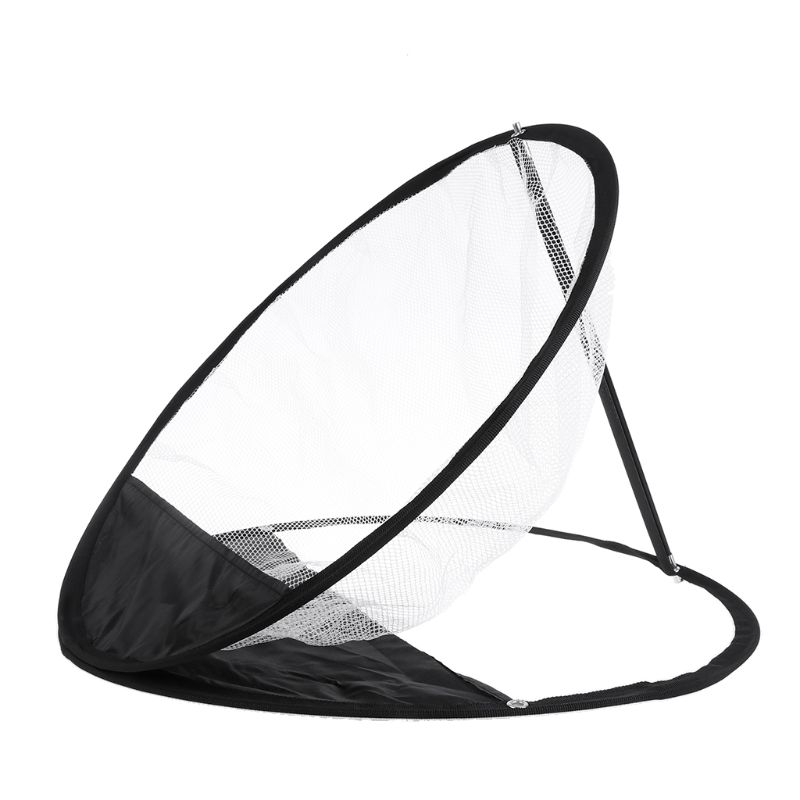 Pop-Up Golf Chipping Net Tainer Aid Foldable Target Net For Accuracy Swing Practice Y51D