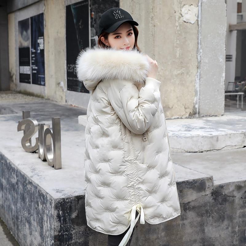 Winter Down Jacket Women Down Coat 2019 New Women's Down Jacket Long Thick Female Down Jacket Woman