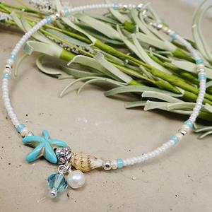 Для женщин и девочек с ракушками и очаровательные женские ботильоны браслет ножной браслет на пляже, ювелирное изделие, подарок