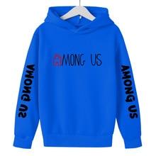 Hoodie Girl Sweatshirt Harajuku-Clothes Among Us Unisex Pullover Video-Games Streetwear