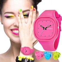 SYNOKE, студенческие красочные Водонепроницаемый спортивные часы Для мужчин брендовая Для женщин уникальный силиконовый светодиодный цифровой Дата наручные часы