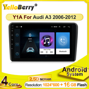 Car GPS Radio stereo player Android 2din For Audi A3 8P 2003-2012 S3 2006-2012 Navigation Multimedia SWC WIFI