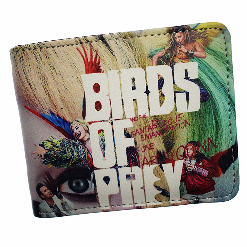 New Birds Of Prey: And The Fantabulous Emancipation Of One Harley Quinn Wallet Short Purse With Coin Pocket
