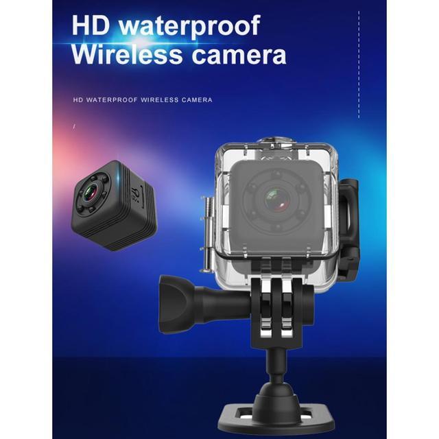Мини видеокамера SQ29, портативная микро камера с функцией ночного видения