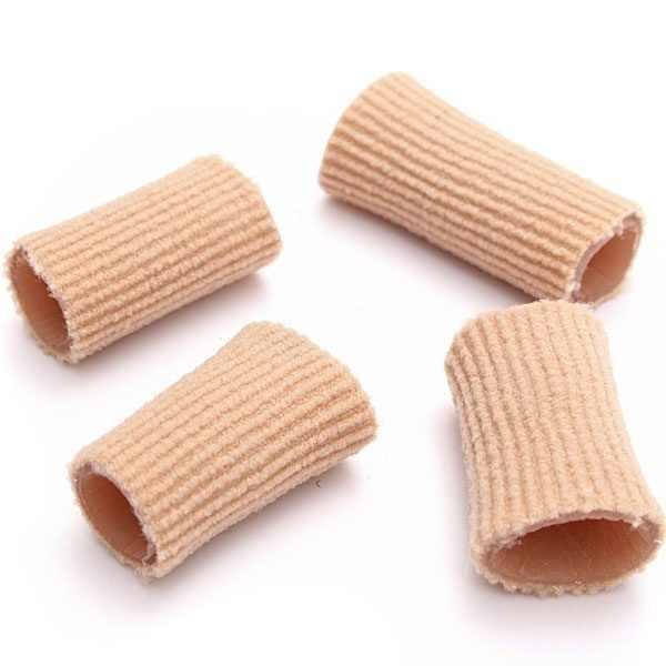 Tessuto Tubo di Gel Bunion Toes Separator Calli Calli Blister Tappo di Protezione Della Copertura (K)