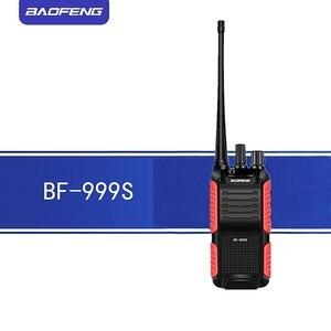 Image 3 - 2 pcs baofeng 워키 토키 BF 999S (1 2 3 4 5) 플러스 999 s 8 w/5 w 4200 mah 송수신기 휴대용 fm 양방향 라디오 업 그레 이드 uhf BF 888s