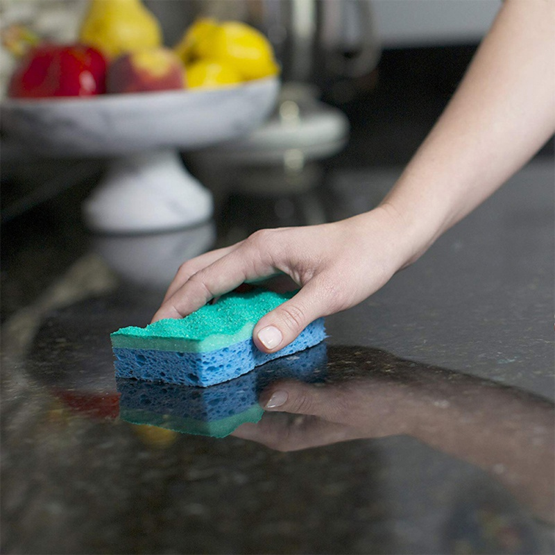1PC Kitchen Cleaning Magic Sponge Eraser Foam Cleaner Dish Multi-functional Kitchen Pad Resistant Oil Dirty Washcloth CleanTools