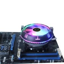 LED CPU Cooler Cooling CPU fan PC Cooling 120mm fan Radiator heatsink for LGA 775 1150 1155 11561366 X79 X99 AM3 AM4