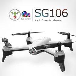 SG106 RC Drone 4K 1080P 720P Dual Camera FPV WiFi Optical Flow Real Time Aerial Video RC Quadcopter Aircraft Dron Camera