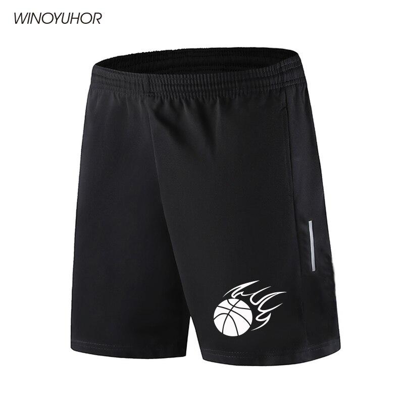 2021 Mens Shorts Summer Casual Basketball Print Shorts Men Sporting Bodybuiding Short Pants Slim Fit Shorts Fitness Clothing