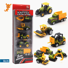 Diecast Toy Vehicles Car 1:64 Racing Farm Ambulance Green Black White Green Military Diecast Toys For Children Model Car Tractor norscot cat 611 wheel tractor scraper diecast 1 64 new in box collectible toy