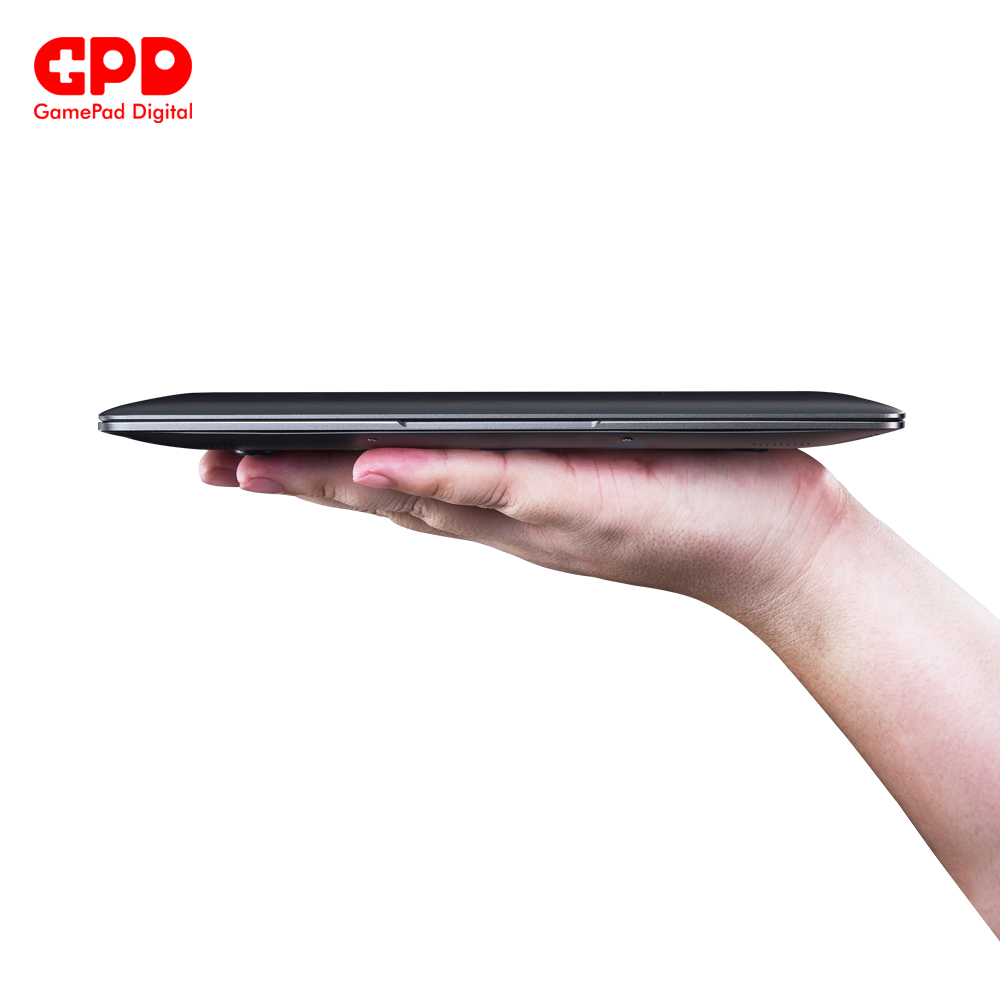 GPD P2 Max Gaming Laptop Ultrabook Computer Notebook DDR3 RAM 16GB  SSD 512GB 8.9 Inch 2K Touch Screen Intel Core m3-8100Y 6