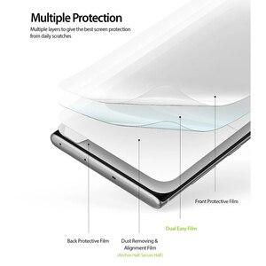 Image 2 - Ringke Protezione Dello Schermo Dual Facile Film per Galaxy Note 10 Più Alta Risoluzione Facile Applicazione Pellicola per la Nota 10 + pro [2 Pezzi]