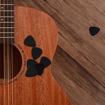 Profesjonalna gitara wybiera 0 46mm Ukulele elektryczna gitara basowa muzyczne grube celuloidowe plektronowe instrumenty strunowe akcesoria tanie i dobre opinie CN (pochodzenie)