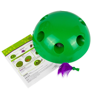 Image 3 - 2019 New Cat Toy Pop Play Pet Toy Ball POP N PLAY Cat Scratching Device Funny Traning Cat Toys For Cat Sharpen Claw Pet Supplies