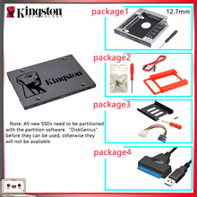 Original kingston ssd 120 gb sats 3 hdd 2.5 polegadas disco duro ssd com hdd caddy/optibay ou adaptador para computador portátil(China)