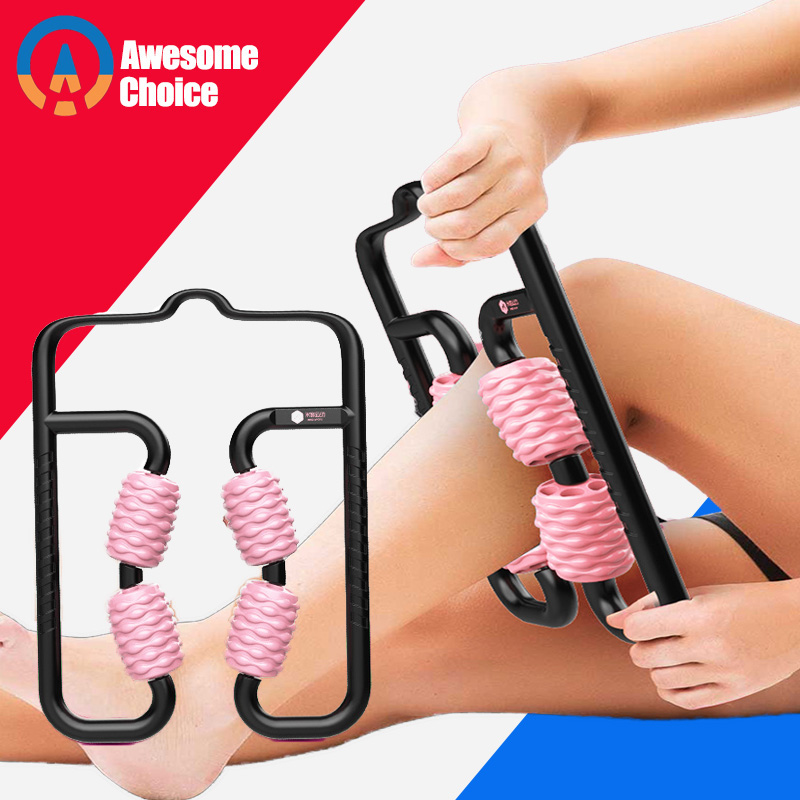Massage Roller For Muscle Relax Yoga Stick Body Massage Relax Tool Muscle Roller Stick Relieving Muscle Soreness And Cramping