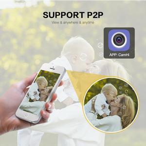 Image 5 - Volle HD 1080P 2MP PTZ Wireless Speed Dome IP Kamera Wifi Im Freien Sicherheit CCTV 2,7 13,5mm Auto fokus 5X Zoom Sd karte ONVIF P2P